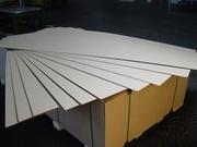 ДВП плита ламинированная толщины 2,  5 мм,  3, 2 мм